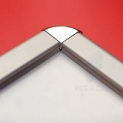 Штендер А0 со скругленными углами