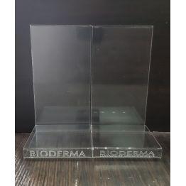 Подставка под косметику с ценникодержателем